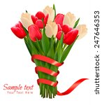 valentine's holiday background... | Shutterstock .eps vector #247646353