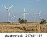 victorian  wind farm  near... | Shutterstock . vector #247654489