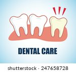 dental care design  vector... | Shutterstock .eps vector #247658728