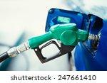 fuel nozzle gas station. | Shutterstock . vector #247661410