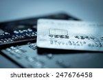 credit card online shopping... | Shutterstock . vector #247676458