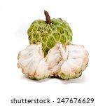 Fresh Custard Apple Isolated On ...
