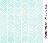 seamless tribal ikat watercolor ... | Shutterstock .eps vector #247679566