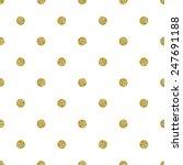 pattern polka dot. classic... | Shutterstock .eps vector #247691188