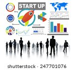 business corporate people start ...   Shutterstock . vector #247701076