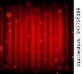 vector happy valentine's day... | Shutterstock .eps vector #247705189