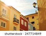 sunny yellow houses | Shutterstock . vector #247714849