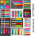 colorful modern text box... | Shutterstock .eps vector #247738060
