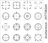 crosshair icons set for... | Shutterstock .eps vector #247738264