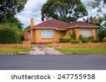 typical australian house.... | Shutterstock . vector #247755958