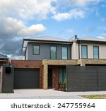 typical australian house.... | Shutterstock . vector #247755964