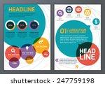 set of vector template for... | Shutterstock .eps vector #247759198