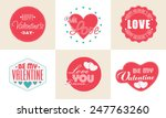 collection of sticker or labels ... | Shutterstock .eps vector #247763260