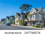 street in pacific grove ... | Shutterstock . vector #247768576