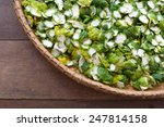 Kaffir Lime Peel In A Basket