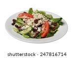 crisp fresh greek salad...