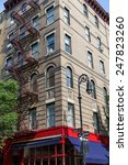 west village in new york... | Shutterstock . vector #247823260