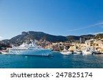 monaco  nov 16  panoramic view... | Shutterstock . vector #247825174