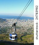 cable car to table mountain in... | Shutterstock . vector #24783982