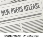 new press release illustration... | Shutterstock . vector #247859653