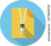 Zip File Icon - 5940 - Dryicons