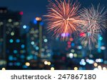 Multicolor Fireworks With...