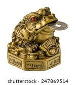 Chinese Frog With Coins  A...