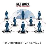 people design over white... | Shutterstock .eps vector #247874176