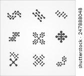 nano element icons set | Shutterstock .eps vector #247888048