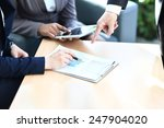 close up image of an office... | Shutterstock . vector #247904020