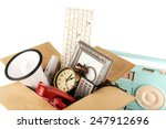box of unwanted stuff close up | Shutterstock . vector #247912696