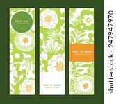 vector green and golden garden... | Shutterstock .eps vector #247947970
