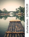 china guilin yangshuo bamboo...   Shutterstock . vector #247952539