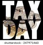 tax day  | Shutterstock . vector #247971460