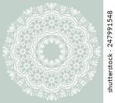 damask vector floral pattern... | Shutterstock .eps vector #247991548