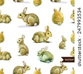 Rabbit  Hare  Pattern ...