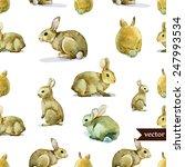Rabbit  Hare  Pattern ...