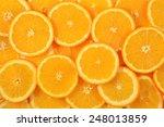 orange slices as background... | Shutterstock . vector #248013859