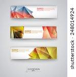 business design templates. set... | Shutterstock .eps vector #248014924