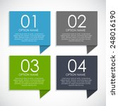 infographic templates for... | Shutterstock .eps vector #248016190