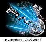 racing concept vector | Shutterstock .eps vector #248018644