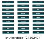 buttons buttons multi language | Shutterstock . vector #24802474