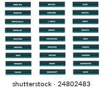 buttons buttons multi language | Shutterstock . vector #24802483