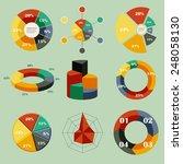 set of vector diagrams | Shutterstock .eps vector #248058130