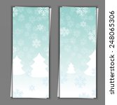 set of banner templates with... | Shutterstock . vector #248065306