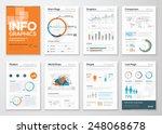 big set of infographic elements ... | Shutterstock .eps vector #248068678
