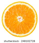 orange fruit cut | Shutterstock . vector #248102728