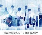 business people working... | Shutterstock . vector #248116609