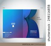 vertical a4 cover design   Shutterstock .eps vector #248116858