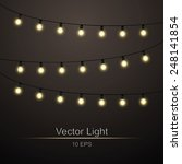 abstract background with lights ... | Shutterstock .eps vector #248141854
